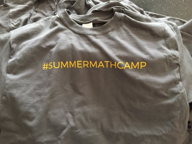 3 Act Lessons at #SummerMathCamp